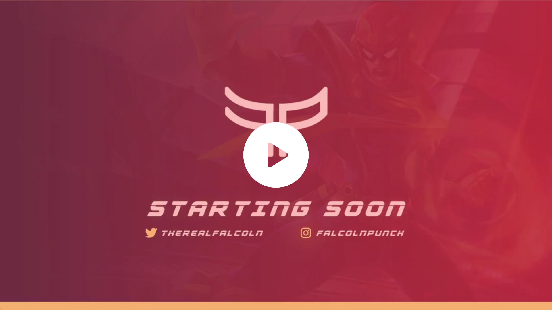 Animated Screen using a FalconPunch design and simple FP logo