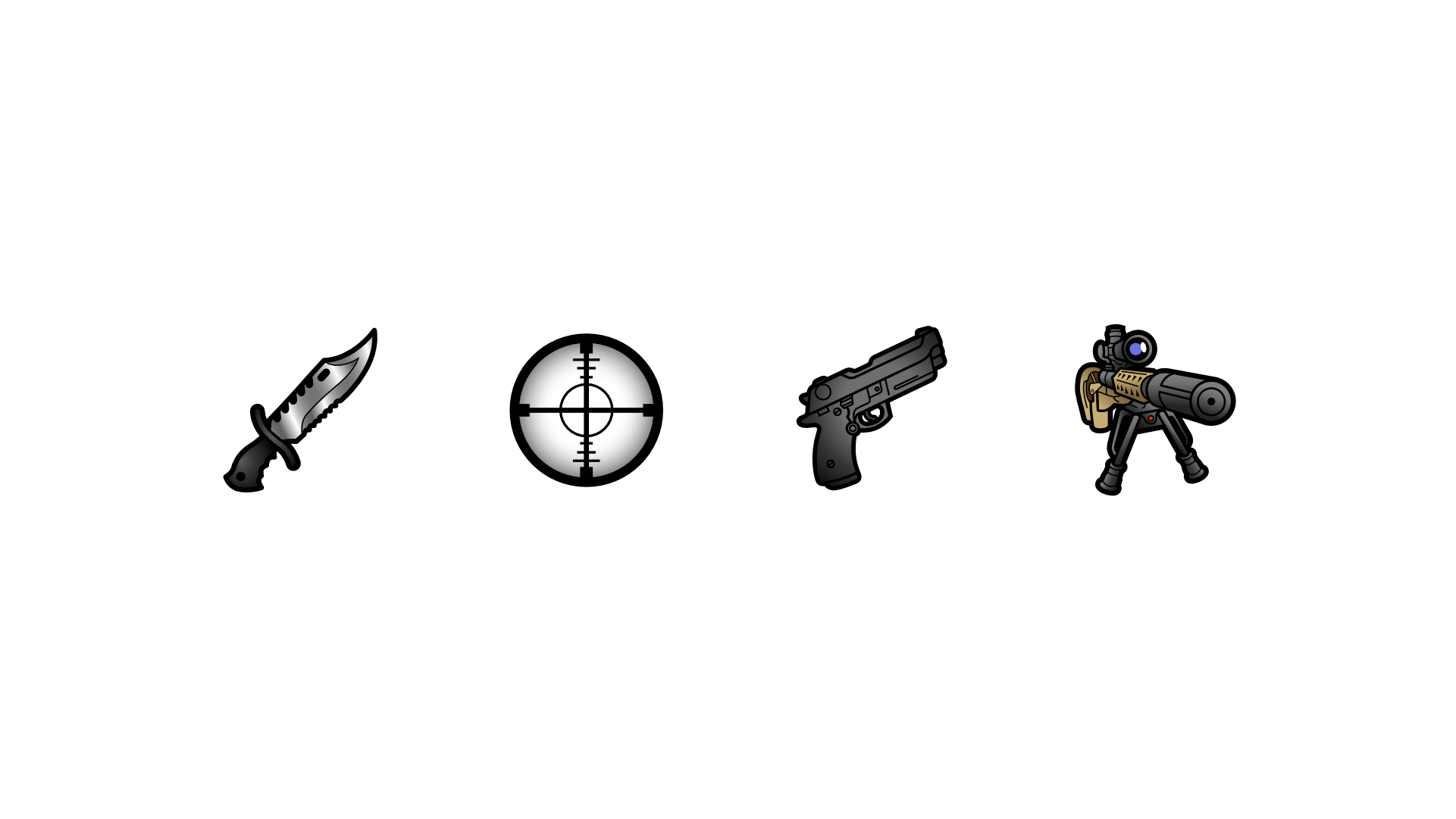 Weapon icon sub badges for Twitch