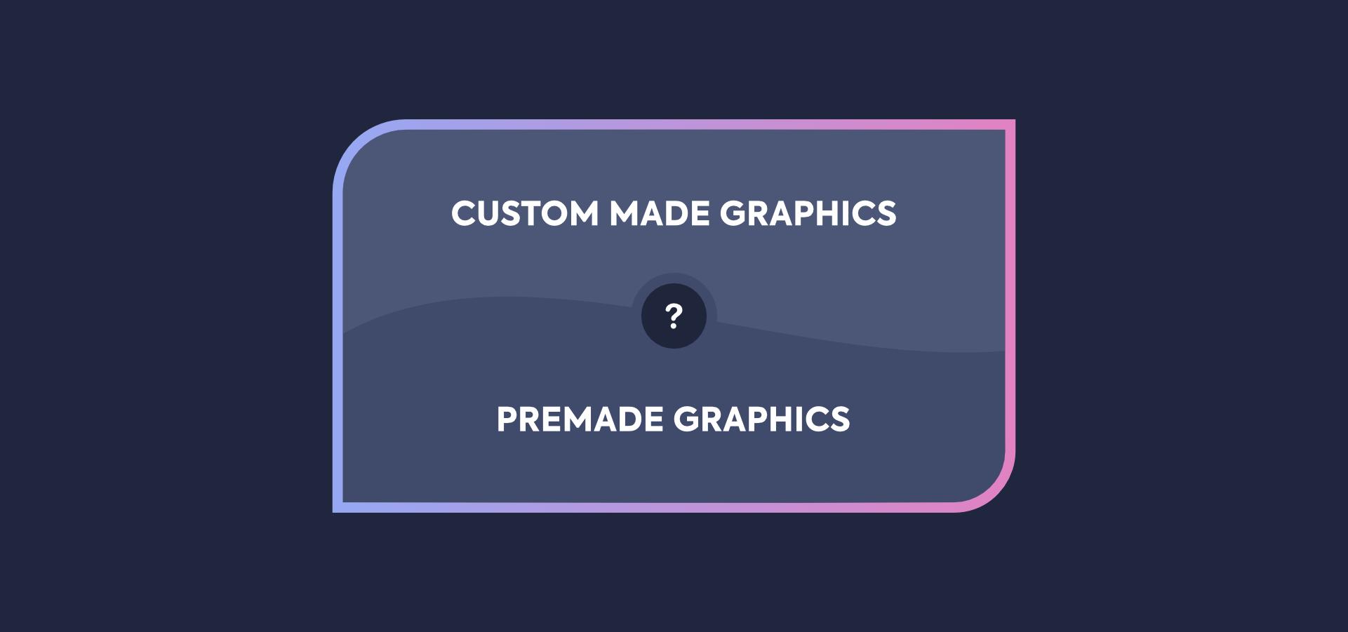 Custom Made Stream Graphics vs Premade Stream Graphics