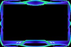 BlueGreenWebcamOverlay